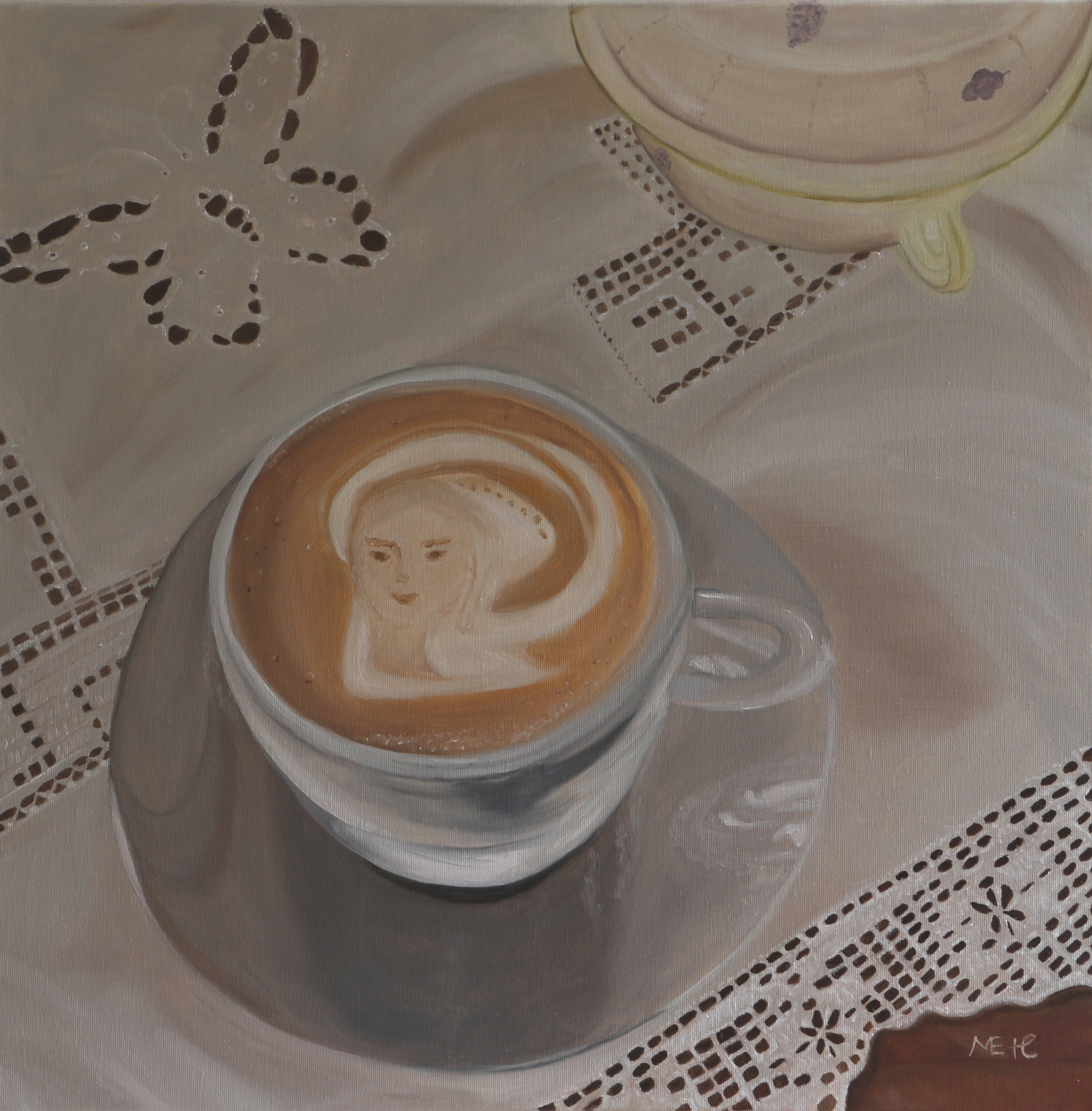 Art Coffee 60x60 cm