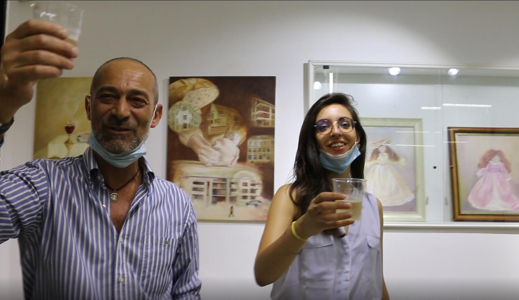 Opening Naples Show in Palazzo Venezia