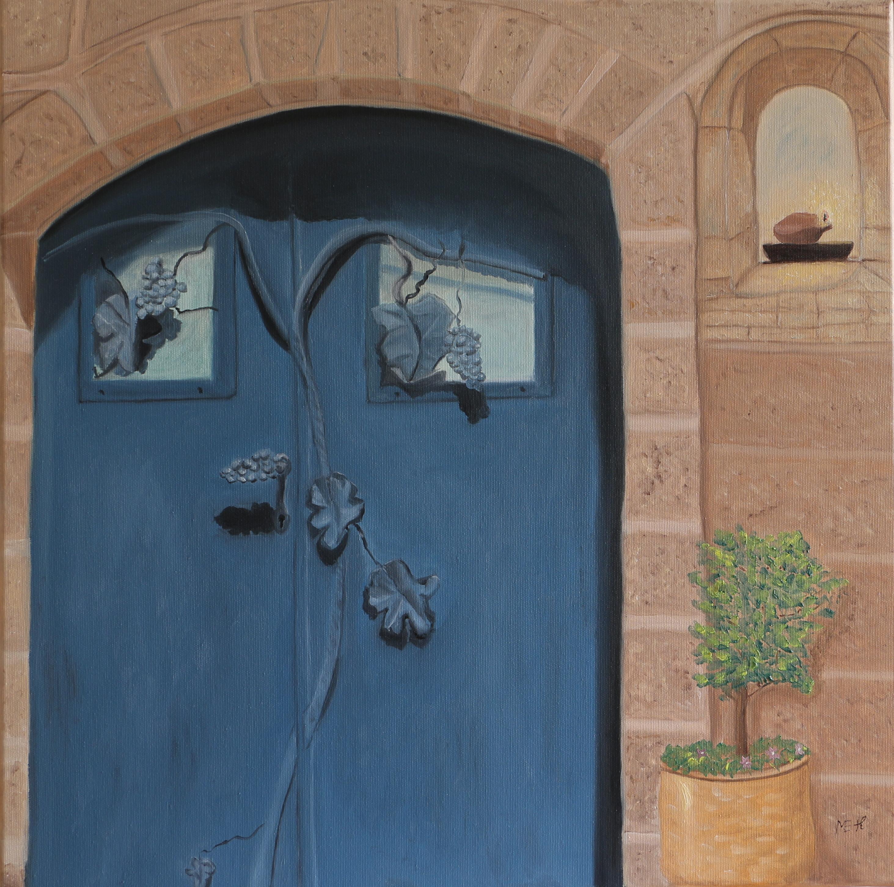 Knock, 60x60cm