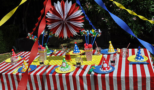 Carnival Theme Party Supplies - Party Box