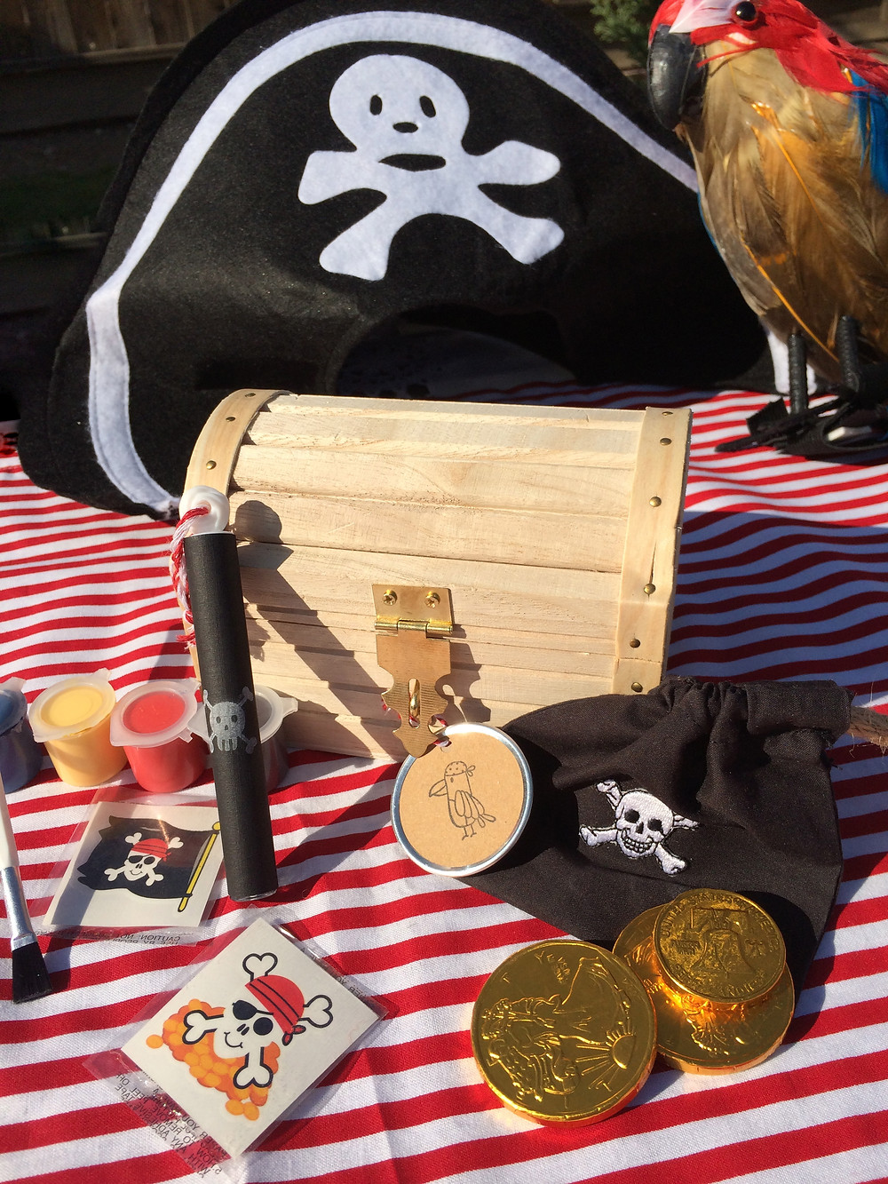 pirate party goody bag craft gift