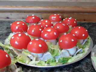 Themed Party Food Ideas - Magic Toadstools
