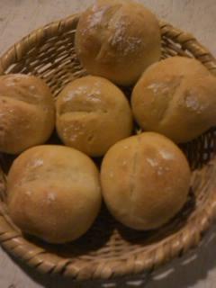 パンを焼く