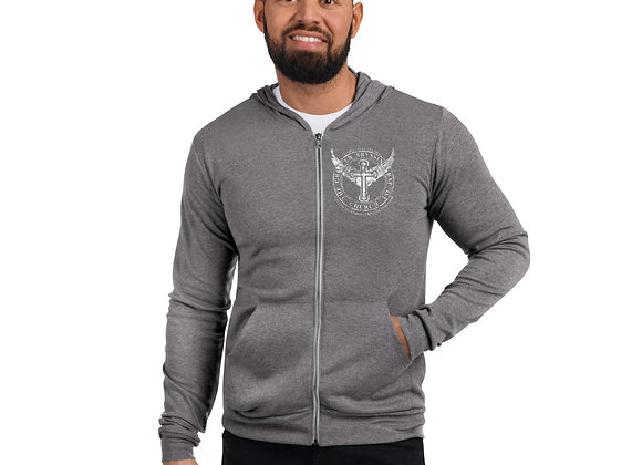 GABC Unisex zip hoodie