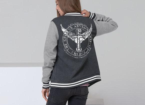 GABC Grunge Women's Letterman Jacket