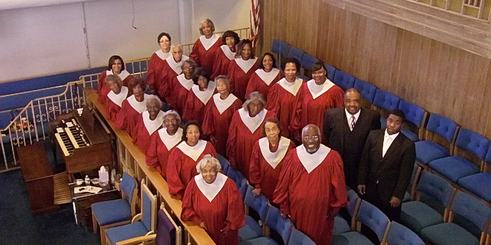 Sanctuary Choir Anniversary