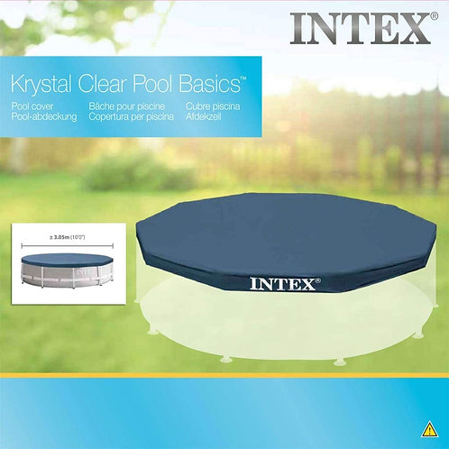 Intex 10ft x 10in Ground Pool Cover
