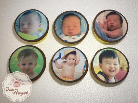 Edible Image Baby Photos