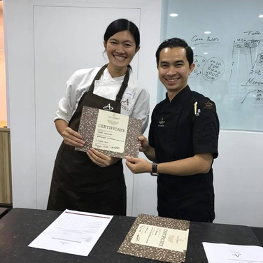 Chocolate Tempering with Agus Supriyadi