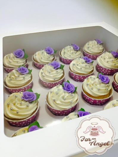 3D Purple Flowers
