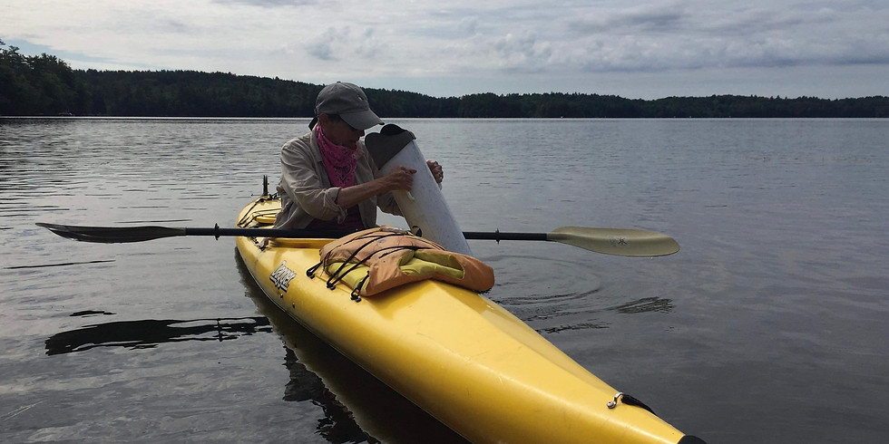 Milfoil Fragment Patrol in North Bay of Great Pond