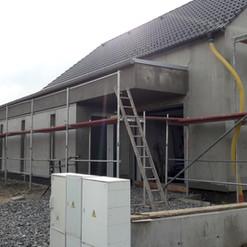 Realizace fasády na RD