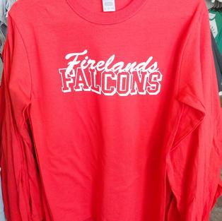 Firelands Falcons Long Sleeve T-Shirts