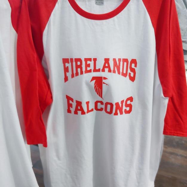 Firelands Falcons Raglans