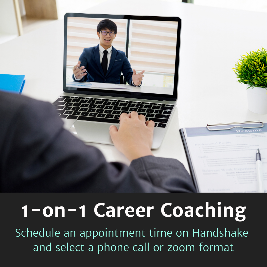 1-on-1 Career Coaching