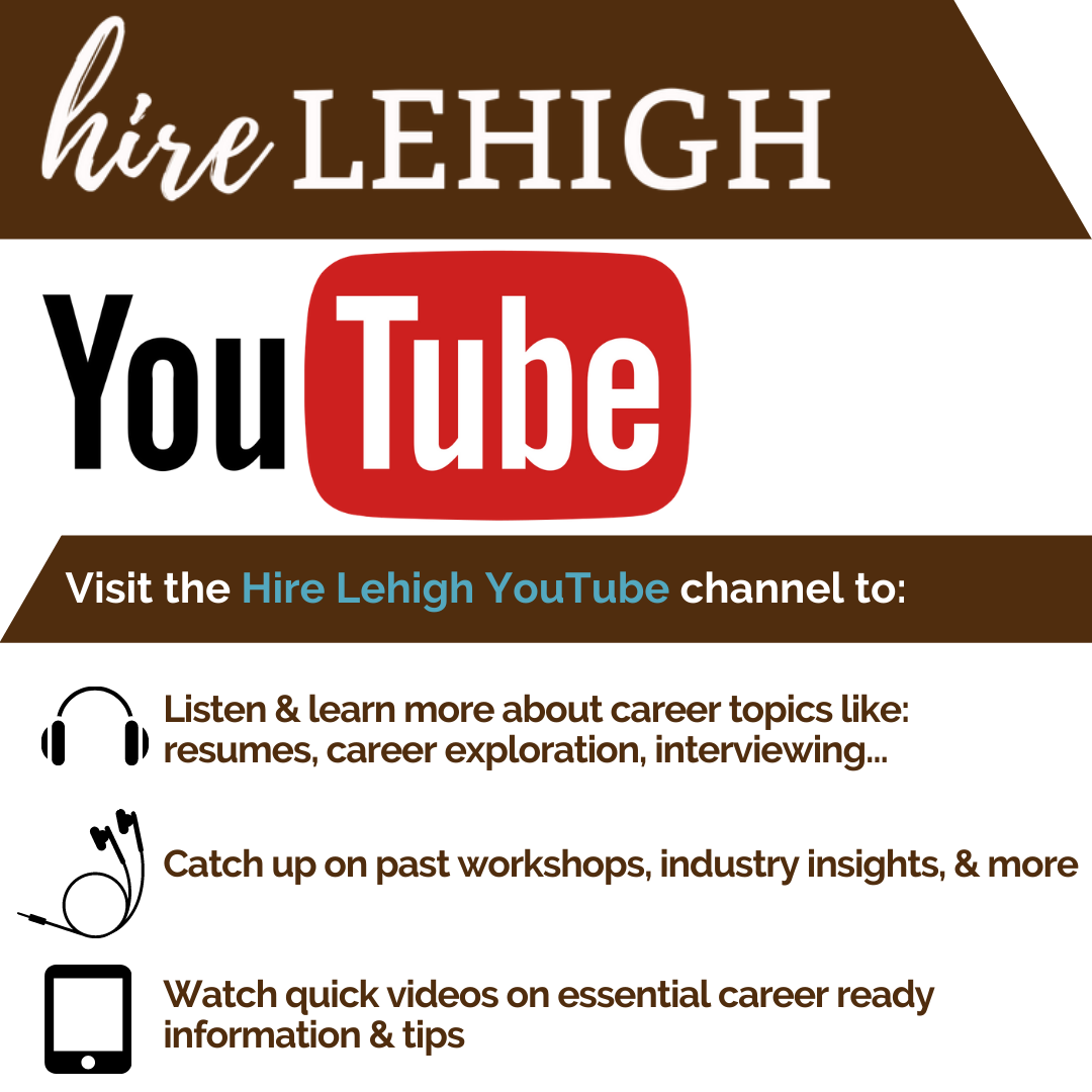 Hire lehigh you tube graphic