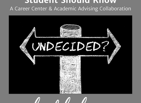 8 Things Every Undeclared Student Should Know