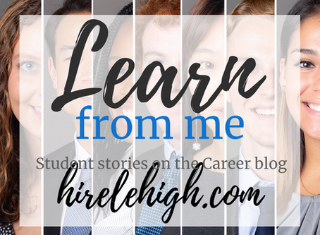 Learn from me: Informational Interviews