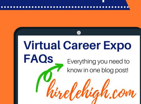Virtual Career Expo FAQ's