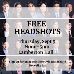 FREE HEADSHOTS fall21