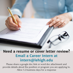 Need a resume or cover letter review_