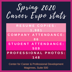 Career Expo statsspring2020