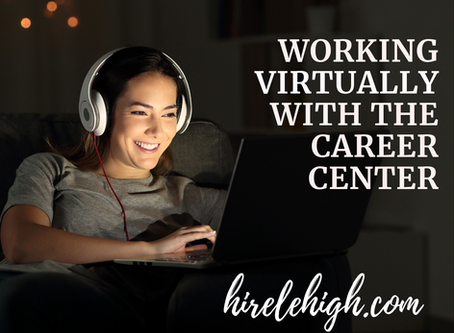 Working Virtually with the Career Center