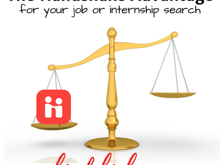 The Handshake Advantage for your job or internship search