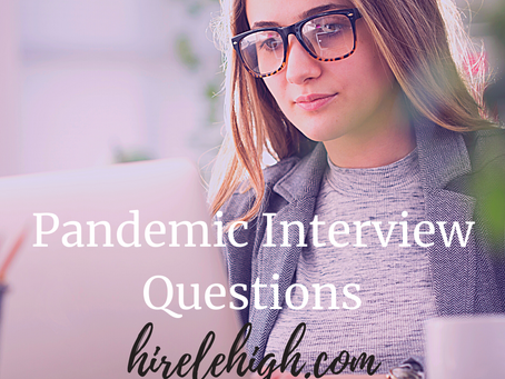 Pandemic Interview Questions
