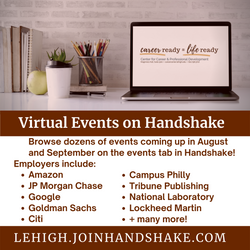 Virtual Events on Handshake