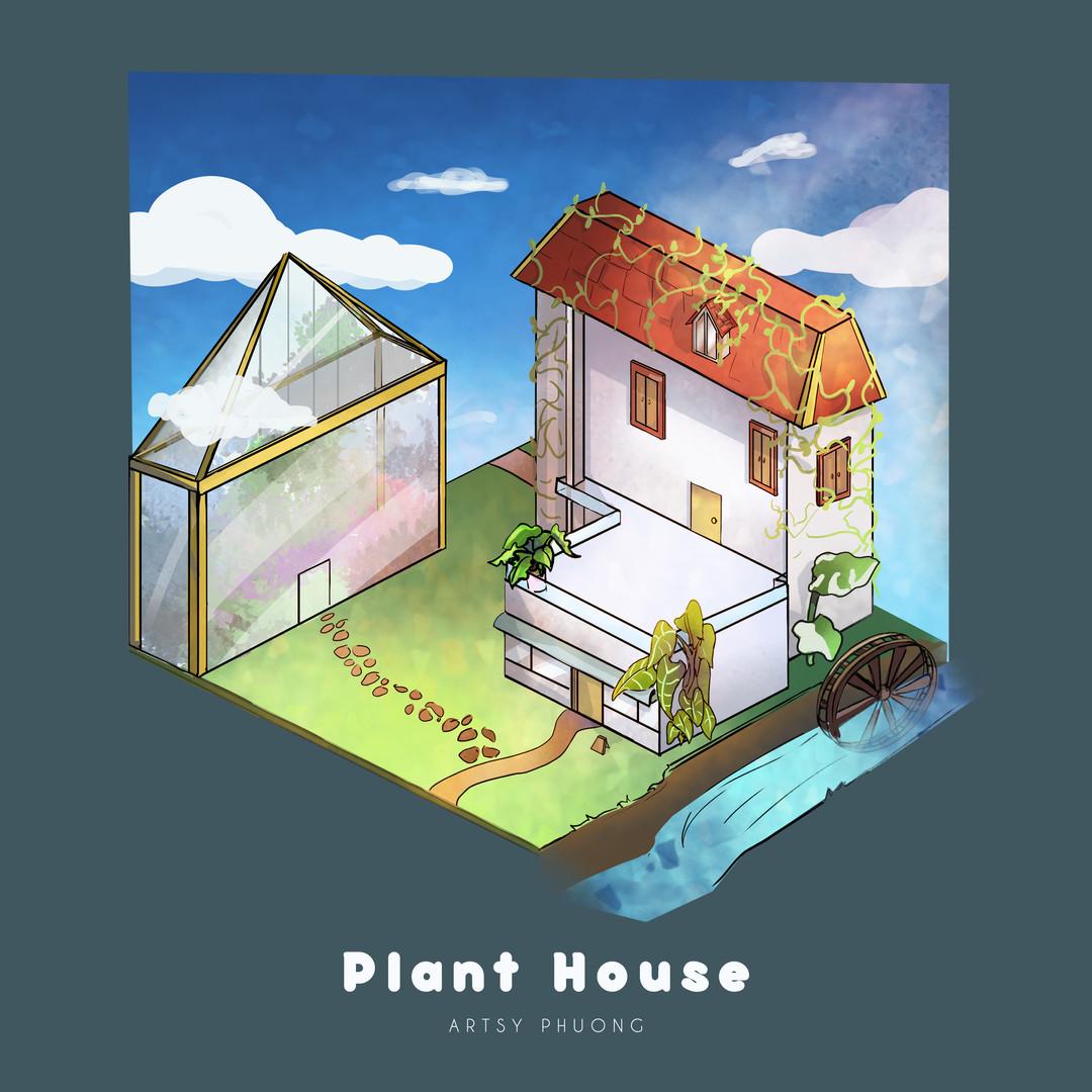 cofee/plant house