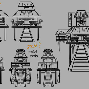 Reyes Clan Village WIP