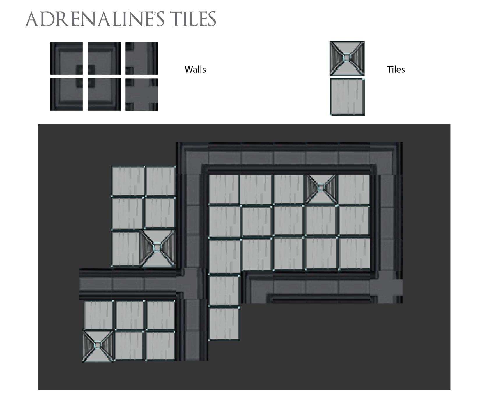 adrenaline tiles