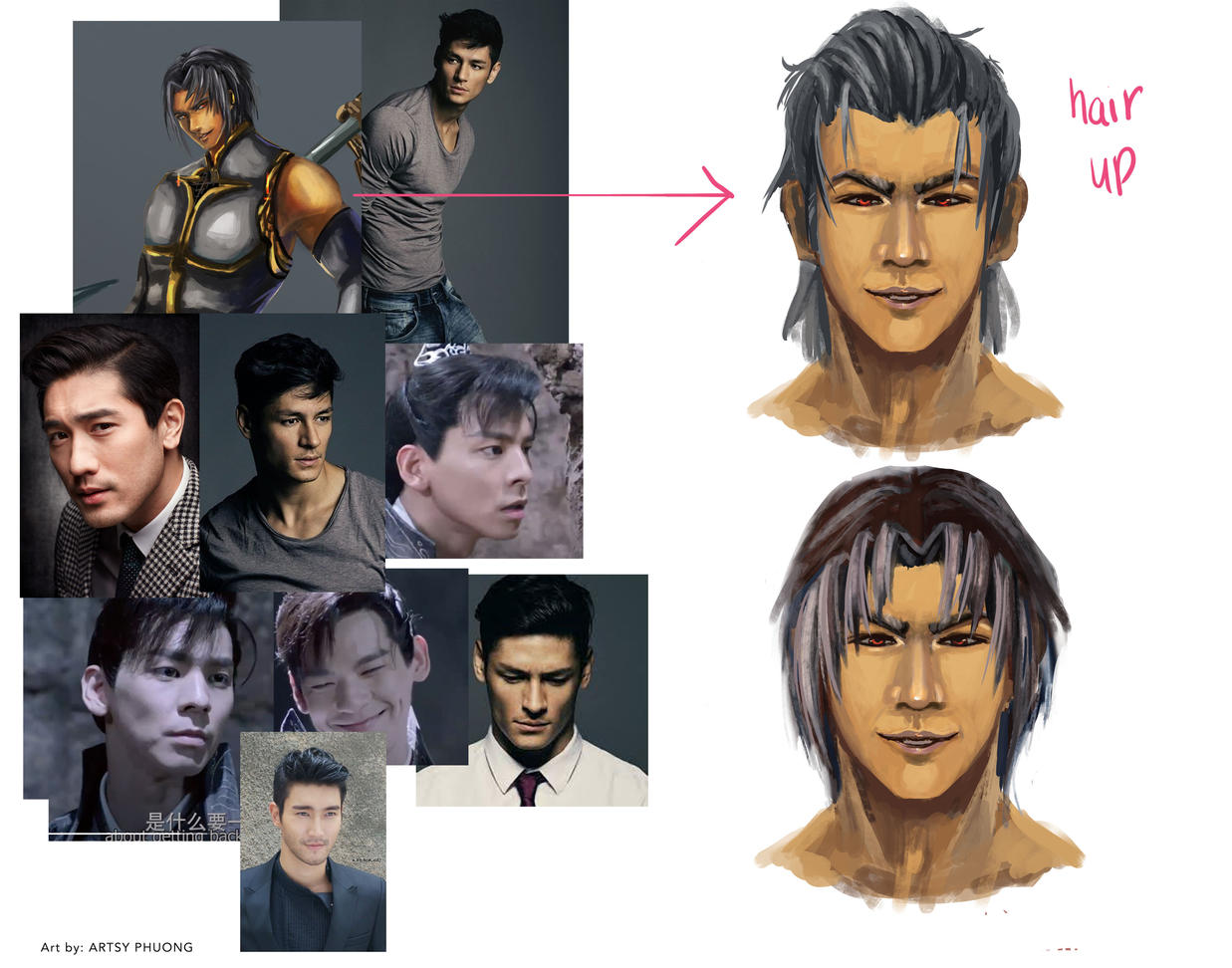 Face coloring