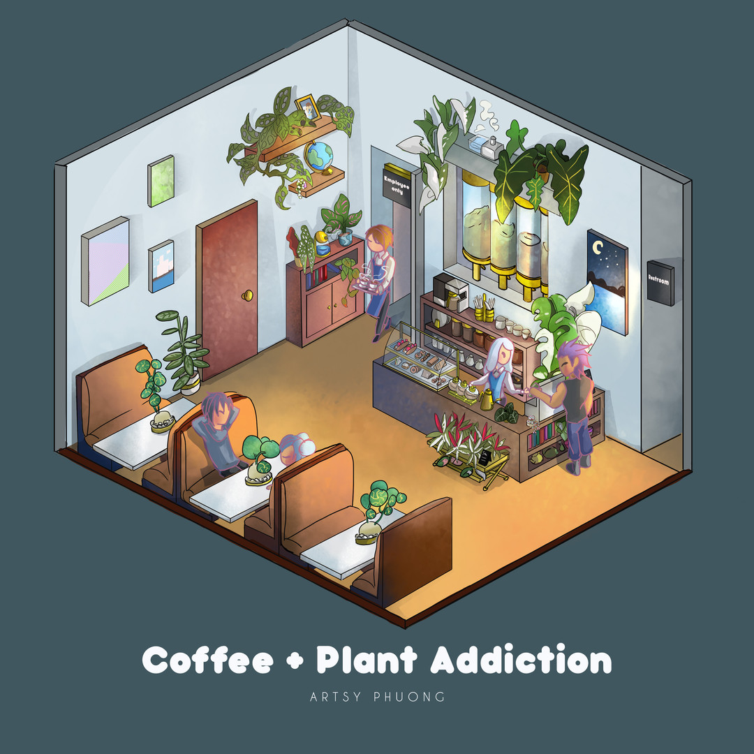 Coffee/plant inside