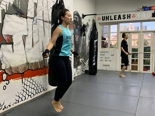 A Look Into A Muay Thai Session At Jungle : Asking the Why.