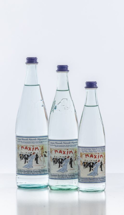 Maxim's Finest Spring Sparkling Water 500 ml by Pierre Cardin