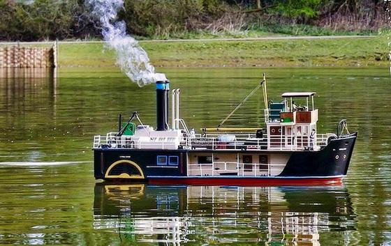 Richard Brock African Paddle Steamer