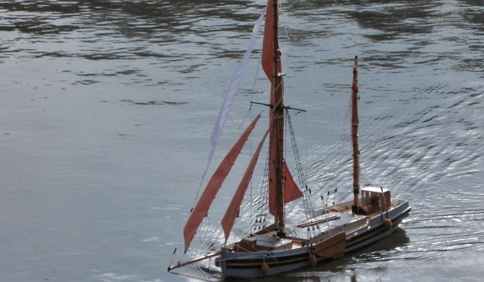 coastal sailing barge