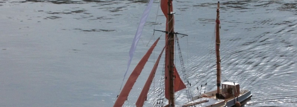 coastal sailing barge