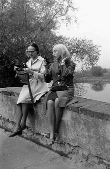 Wilanów. 09.10.1966. Henryka z Oleną