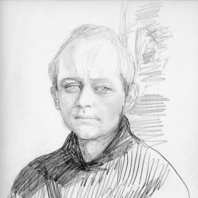 Jerzy Domin - rys. J. Garyckiej