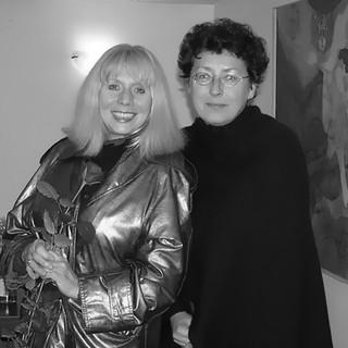 Barbara Wrzesińska i Ilona Łukjaniuk