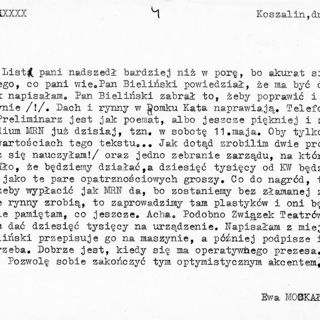 Ewa Mockałło-Siurawska do Henryki