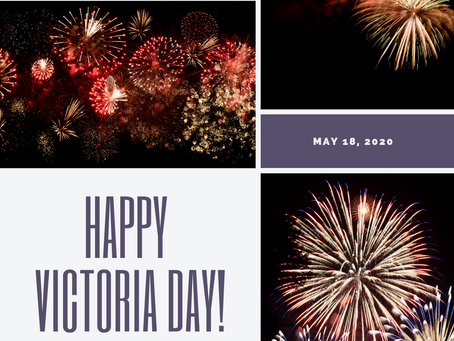 Happy Victoria Day. Have a great long weekend!