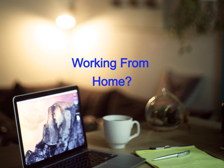 Working From Home? Me Too!