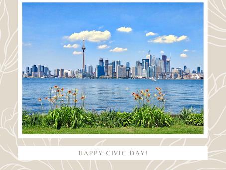 Happy Civic Day!
