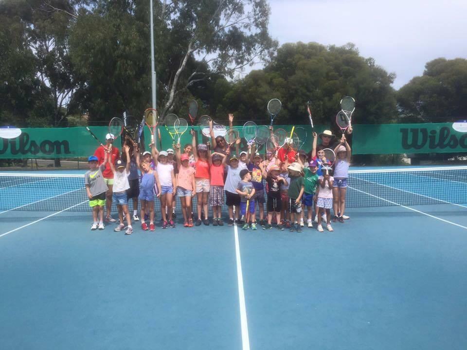 fun school holiday tennis clinic
