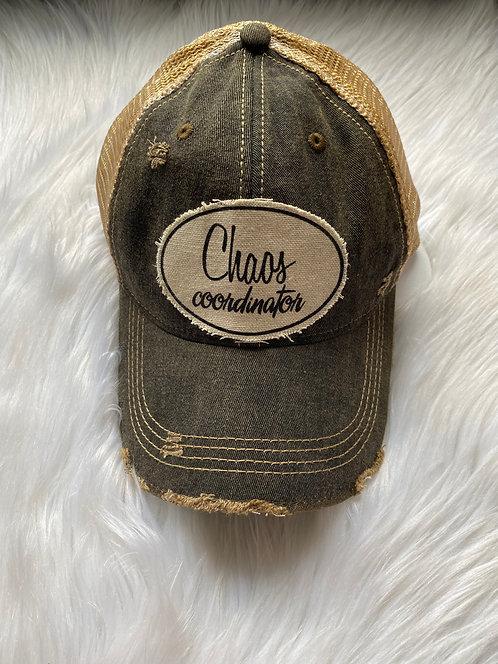 Chaos Coordinator (black) Hat