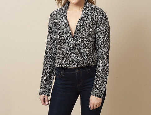 MinkPink Small Floral Top